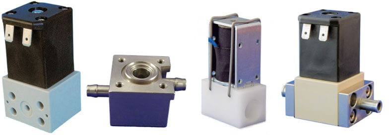 Custom Valves Solenoid Valves with Machined Valve Bodies